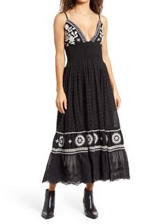 Area Stars Callie Embroidered Maxi Dress