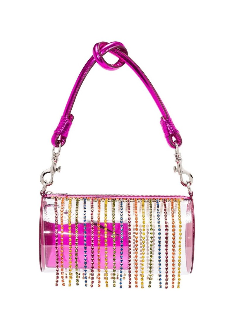 Area crystal tassel shoulder bag