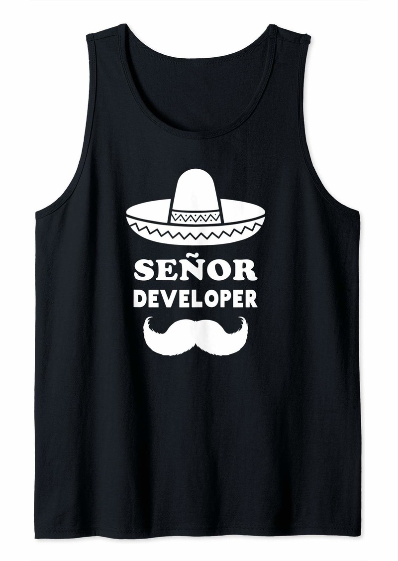 Area Senor Developer | Funny Programmer Tank Top