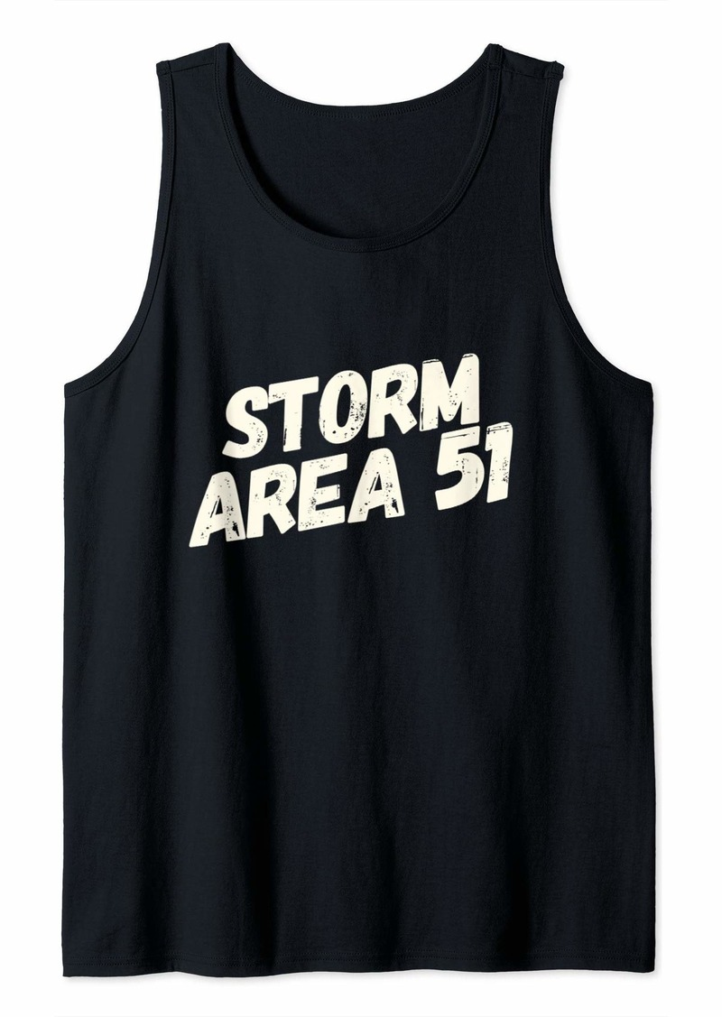 Storm Area 51 See Those Aliens Raid UFO Cant Stop All Of Us  Tank Top