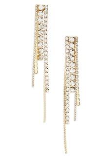 Women's Area Long Chandelier Earrings