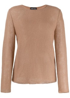 Armani long-sleeved jumper