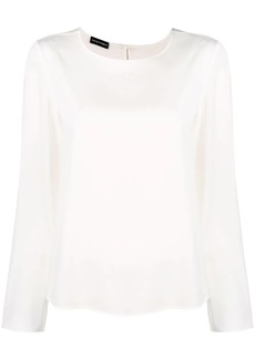 Armani straight-fit blouse
