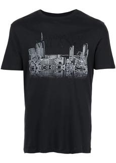 Armani cityscape T-shirt