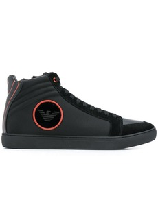 Armani hi-top sneakers