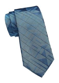 Armani 3D Square Silk Tie
