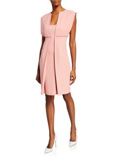 Armani A-Line Cady Dress