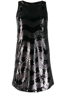 Armani Abito sleeveless embellished dress
