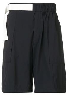 Armani adjustable track shorts