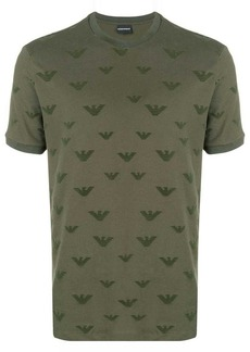 Armani all over logo T-shirt