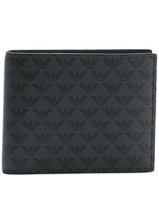 Armani all over logo wallet