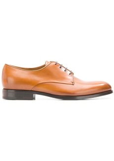Armani almond toe Derby shoes