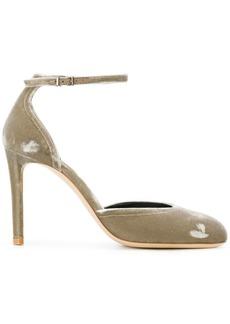 Armani ankle strap pumps