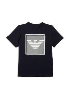 Armani Boys' Eagle-Logo Tee - Little Kid, Big Kid