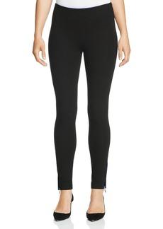 Armani Collezioni Ankle Zip Knit Pants