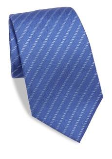 Armani Broken Brick Silk Tie