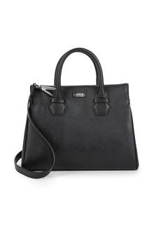 Armani Classic Leather Satchel