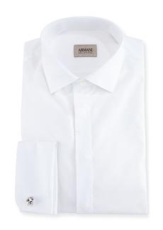 Armani Cotton Tuxedo Dress Shirt