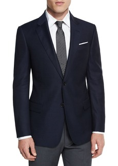 Armani G-Line New Textured Two-Button Sport Jacket