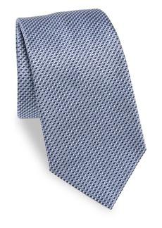 Armani Geometric Pattern Tie