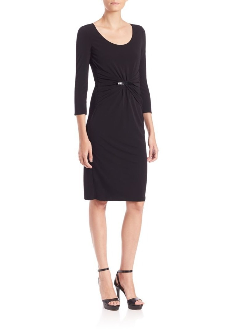Armani Collezioni Interlock Jersey Dress