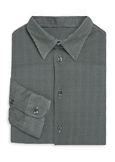 Armani Jersey Cotton Button-Down Shirt