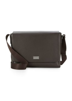 Armani Leather Satchel Bag