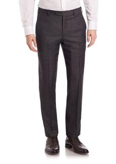 Armani Melange Textured Trousers