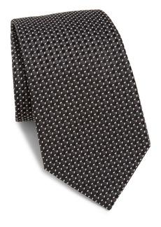 Armani Micro-Patterned Silk Tie