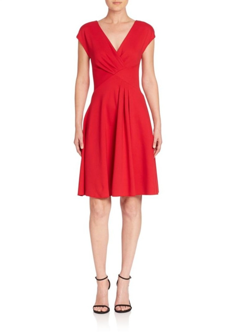 Armani Collezioni Milano Ruched Dress