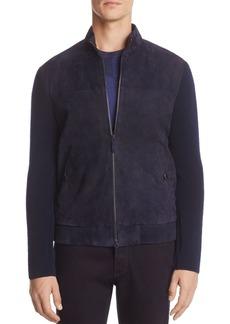 Armani Collezioni Mixed Media Jacket