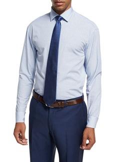 Armani Plaid Cotton Dress Shirt