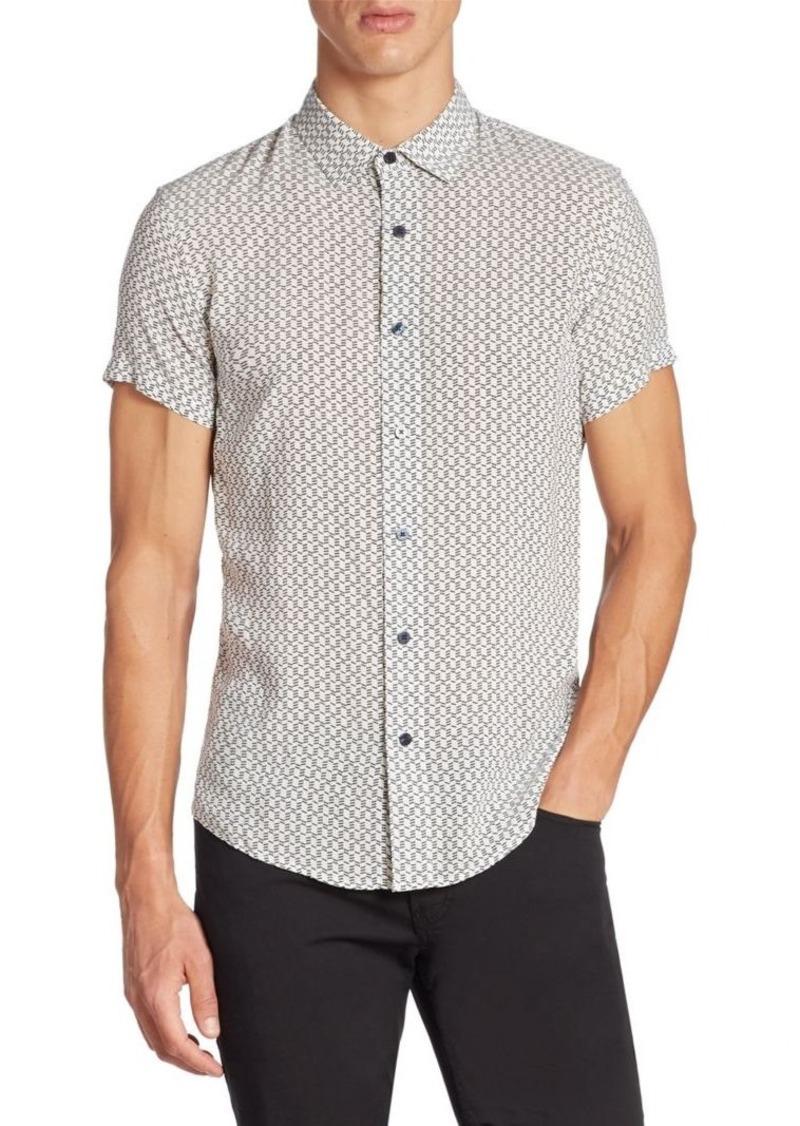 Armani Collezioni Short Sleeve Cotton Shirt
