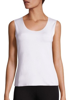 Armani Sleeveless Jersey Top