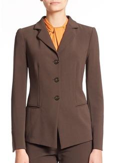 Armani Collezioni Stretch Wool Blazer