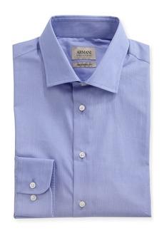 Armani Striped Modern-Fit Dress Shirt