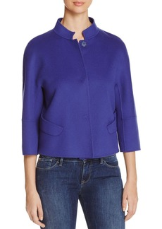 Armani Collezioni Three-Quarter Sleeve Jacket
