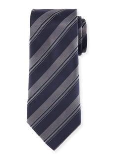Armani Wide Rep-Stripe Tie