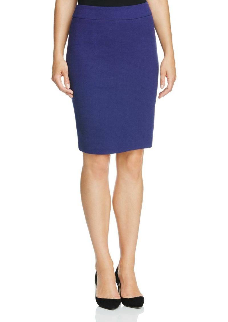 Armani Collezioni Wool Pencil Skirt