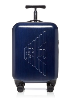Armani Embossed Logo Rolling Suitcase