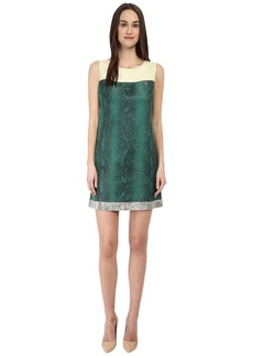 Armani Jeans Eco-Leather Python Shift Dress
