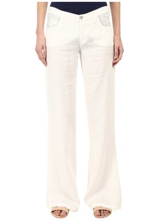 Armani Jeans Flared Linen Pant