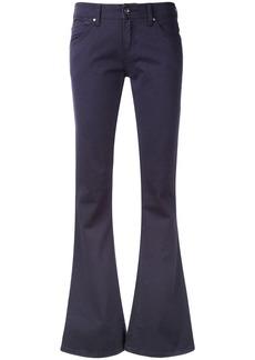 Armani Jeans kick flare jeans - Blue