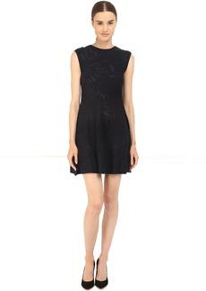 Armani Jeans Knit Fabric Sleeveless Dress