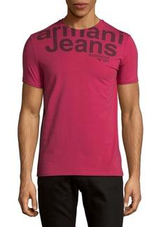 Armani Jeans Logo Crewneck Tee