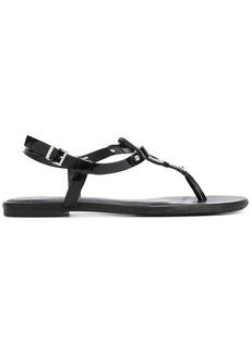 Armani Jeans logo sandals - Black