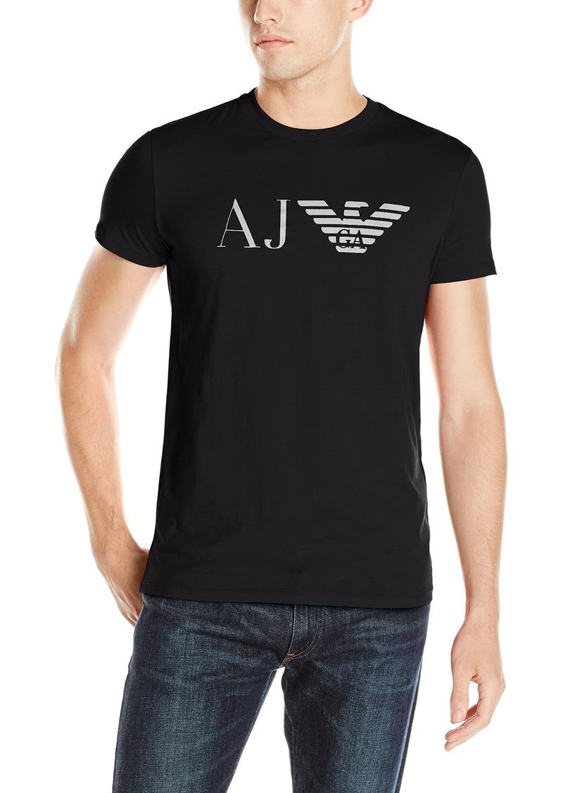 ARMANI JEANS Men's Aj Eagle Logo T-Shirt  3XL