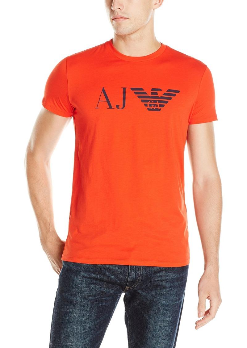 Armani Jeans Men's Aj Eagle Logo T-Shirt  S