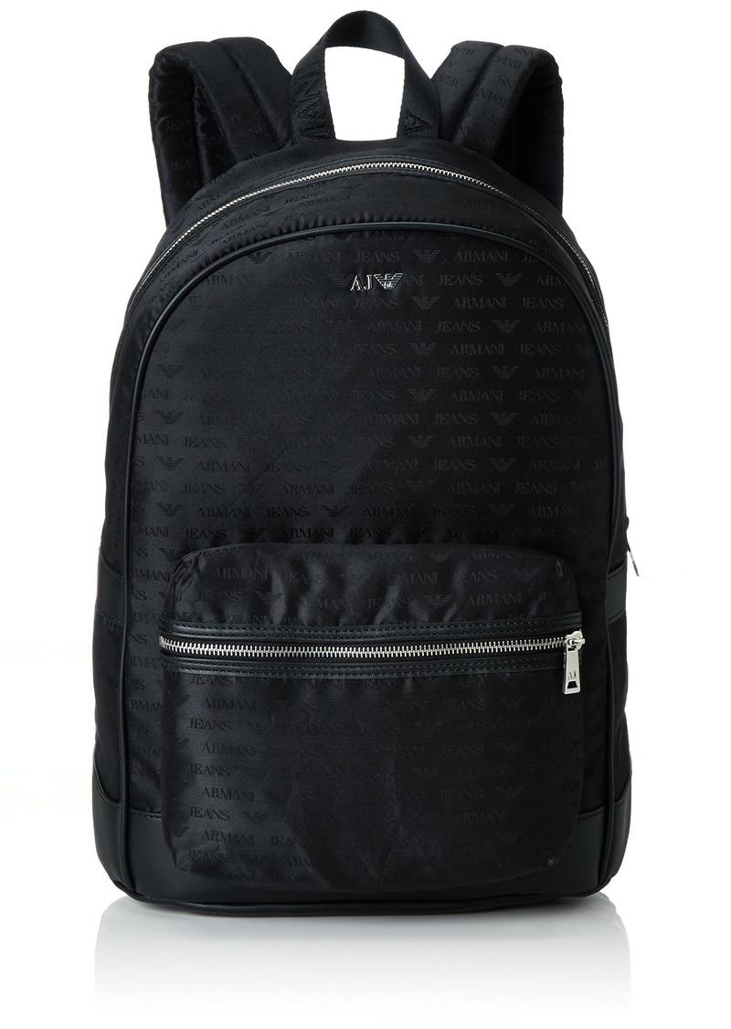 21037c5fd969 Armani Exchange Armani Exchange Men s All Over Logo Printed Backpack ...