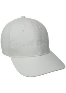 A|X Armani Exchange Armani Jeans Men's Classic Baseball Logo Hat